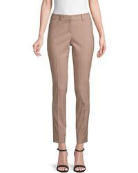 Lafayette 148 New York Manhattan Skinny Pants - Multicolour