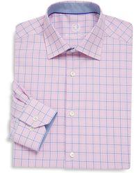 Bugatchi - Checked Dress Shirt - Lyst
