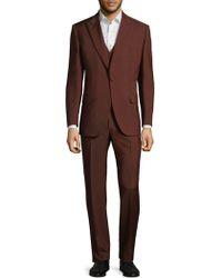 Brioni Suit - Red