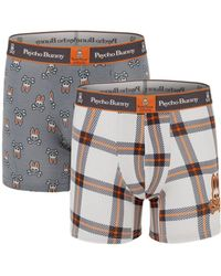 Psycho Bunny - 2-pack Printed Boxer Brief Set - Lyst