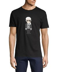 Karl Lagerfeld Karl Cotton Tee - White
