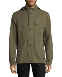 Civil Society - Woven Cotton Hooded Jacket - Lyst