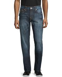True Religion Slim-fit Straight Jeans - Blue