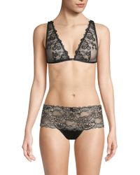 Mimi Holliday by Damaris - Floral Lace Triangle Bra - Lyst