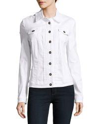 Basler | Solid Cotton-blend Jacket | Lyst