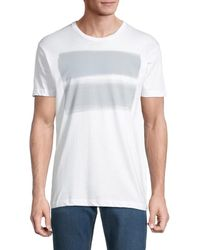 Vestige Transparent Light Graphic T-shirt - White