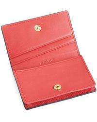 Royce - Pebbled Leather Credit Card Case - Lyst