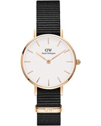 Daniel Wellington Petite Cornwall Stainless Steel & Textile-strap Watch - Multicolour