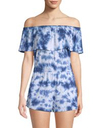 Lucky Brand - Take It Easy Romper - Lyst
