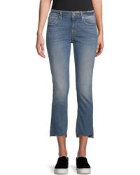 Vigoss - Jagger Straight Cropped Jeans - Lyst