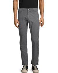 BOSS Slim-fit Corduroy Pants - Gray