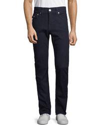 True Religion Rocco Flap Pocket Straight Jeans - Blue