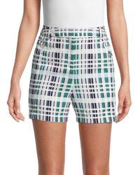 BCBGMAXAZRIA Plaid Shorts - Green