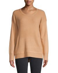 French Connection Ribbed Jumper - Natural