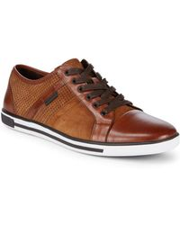Kenneth Cole - Perforated Suede Sport Shoes - Lyst