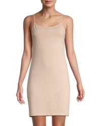 Saks Fifth Avenue Essential Fit Camisole Slip Dress - Natural