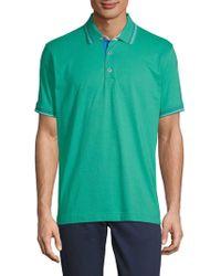 Robert Graham - Sea Breeze Short-sleeve Cotton Polo - Lyst