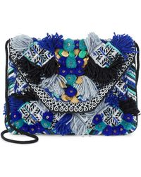 Antik Batik - Cotton Floral Clutch - Lyst