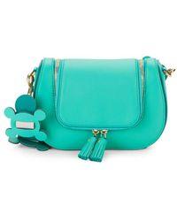 Anya Hindmarch - Small Bathurst Leather Saddle Top Handle Bag - Lyst