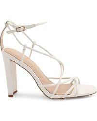 BCBGeneration Wanni Leather Sandals - White