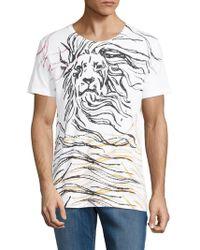 Antony Morato - Men's Lion-graphic T-shirt - Lyst