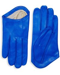 Portolano Classic Leather Gloves - Brown