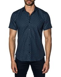Jared Lang - Scooter Cotton Button-down Shirt - Lyst