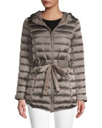 Saks Fifth Avenue - Tie-waist Packable Jacket - Lyst