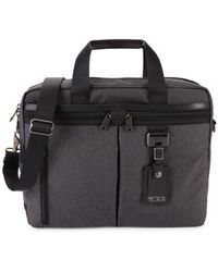 Tumi Women's Medium Densmore Top-zip Briefcase - Gray
