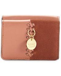 See By Chloé Women's Tilda Leather Coin Purse - Cheek - Multicolour