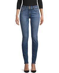 Hudson Jeans Collin Supermodel Skinny Jeans - Blue