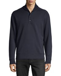 Vince - Shawl Collar Pullover - Lyst