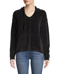 Saks Fifth Avenue - Chenille Hoodie - Lyst