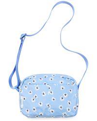 Ganni Fairmont Printed Crossbody Bag - Blue