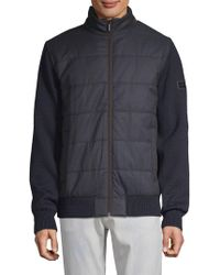 Bugatti - Ribbed Quilted Jacket - Lyst