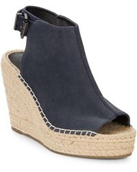 Kenneth Cole Olivia Sandal Wedges - Natural