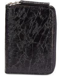 Maison Margiela - Zip-around Leather Wallet - Lyst