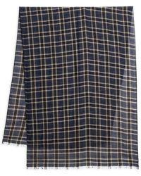 Valentino Garavani - Valentino Garavani Check Wool-blend Scarf - Lyst