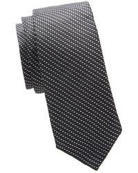 BOSS by HUGO BOSS Graphic Silk Tie - Black