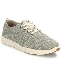 TOMS - Del Rey Textured Sneakers - Lyst