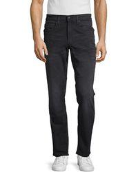 Buffalo David Bitton Ash X Slim Stretch Jeans - Black