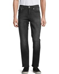 True Religion Geno Flap Super T Relaxed Slim-fit Jeans - Blue