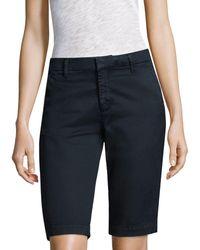 AG Jeans Analise Bermuda Shorts - Blue