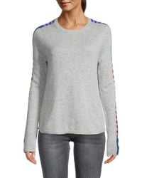 Lisa Todd Arm Candy Wool & Cashmere Jumper - Blue