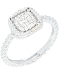 Roberto Coin 18k White Gold & Diamond Ring - Multicolour