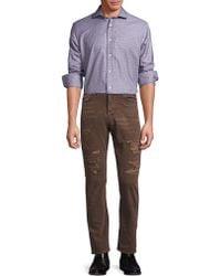 Ralph Lauren Blue Label - Plaid Button-down Shirt - Lyst