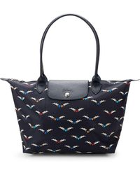 Longchamp - Le Pliage Cheveaux Ailes Medium Nylon Tote - Lyst