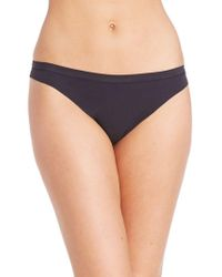 DKNY - Solid Microfiber Thong - Lyst