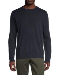 Jack & Jones Basic Long-sleeve Cotton Jumper - Blue
