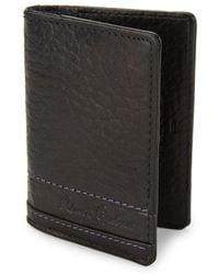 Robert Graham - Bradford Embossed Leather Card Case - Lyst